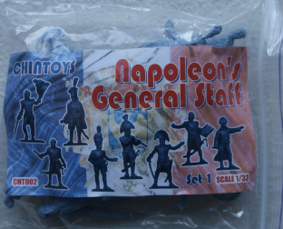 Chin Toys 1/32 CT002 Napoleon's General Staff Set 1 (Napoleonic)